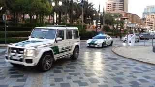 Dubai Police Super exotic Cop cars fleet...