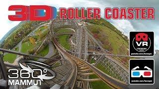 3D 4K 360° Roller Coaster - Mammut Gerstlauer Roller Coaster - VR180 Experience on-ride thumbnail
