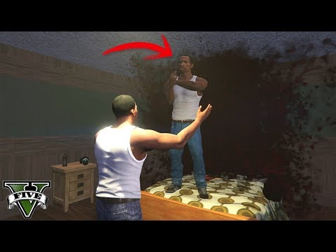 I Found CJ's Ghost in GTA 5! (Easter Egg)