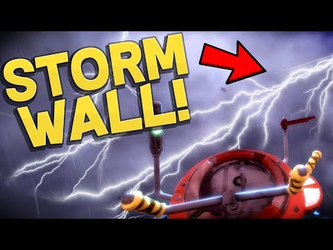 Worlds Adrift - EPIC STORM WALL! New Remnants Biome & Island Temple! - Worlds Adrift Beta Gameplay