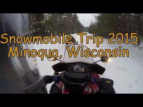 Snowmobile Minoqua Wisconsin