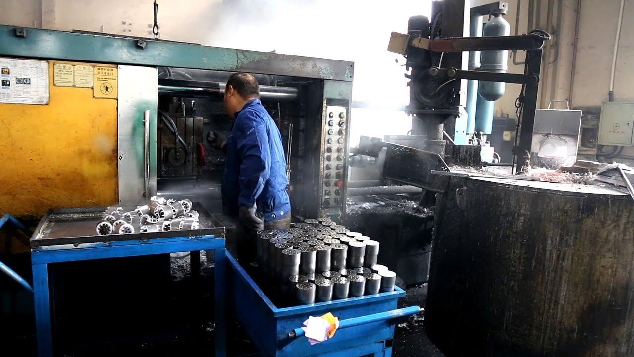 Aluminium Rotor Die Casting Machine_Rotor Die Casting Process