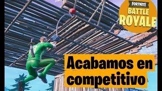 ACABAMOS JUGANDO COMO EN COMPETITIVO XD - Fortnite Battle Royale