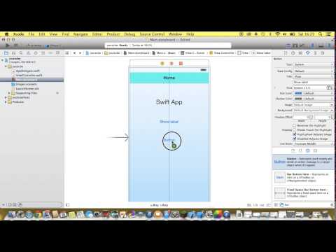 XCode 6 – Swift Language Tutorial – Basic iOS 8 App Development