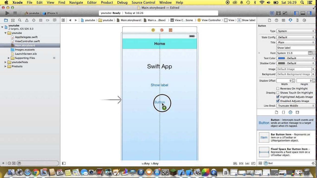 Background image xcode 6 - Xcode 6 Swift Language Tutorial Basic Ios 8 App Development