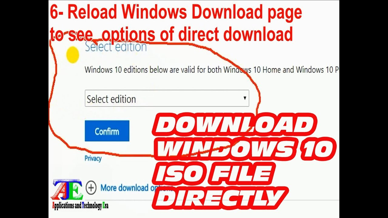 Download Windows 10 ISO Directly From Microsoft Without Media ...