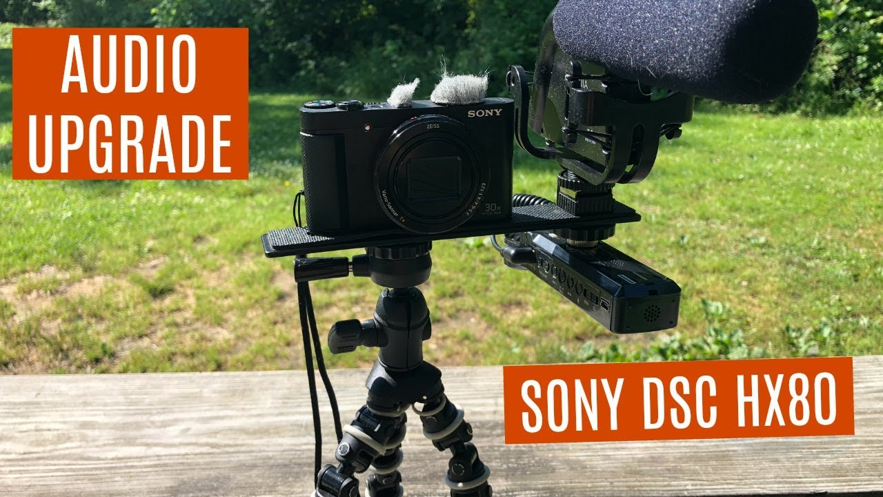 How to Hook up an External Microphone to the Sony DSC HX80