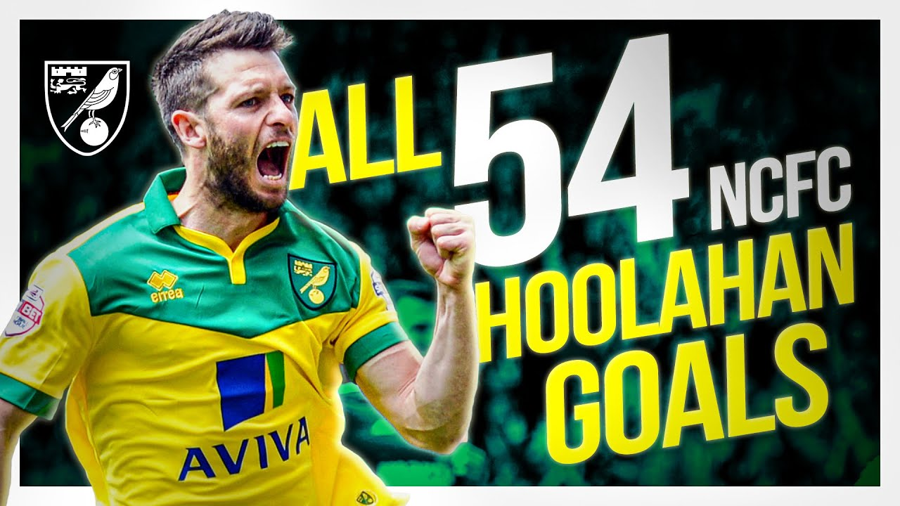 Wes Hoolahan | All 54 Norwich City Goals! 💛
