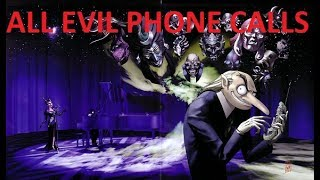 Persona 2 Eternal Punishment ALL Evil Phone Calls