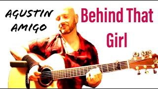 "Agustin Amigo - ""Behind that girl"" (Soobin Hoang Son) - Solo Acoustic Guitar"