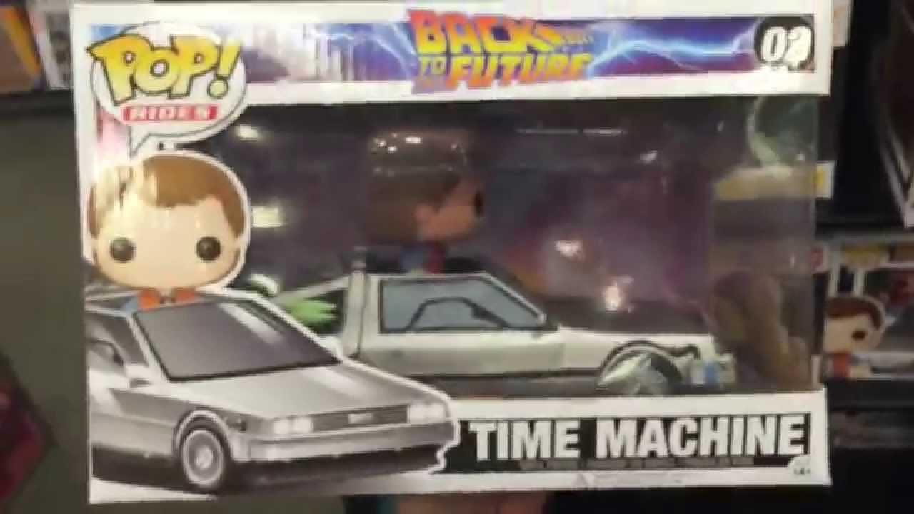 Pop Rides Quot Time Machine Back To The Future Quot Delorean