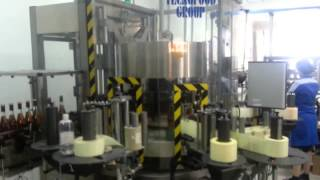 TecnoFood Group equipment line for Kizlyar Cognac Factory
