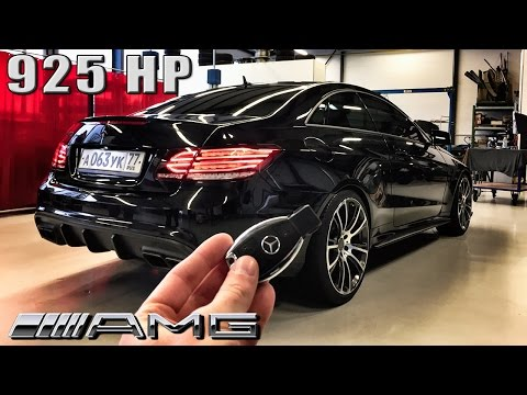 Mercedes E63 AMG Coupe 925 HP REVIEW POV Test Drive by AutoTopNL