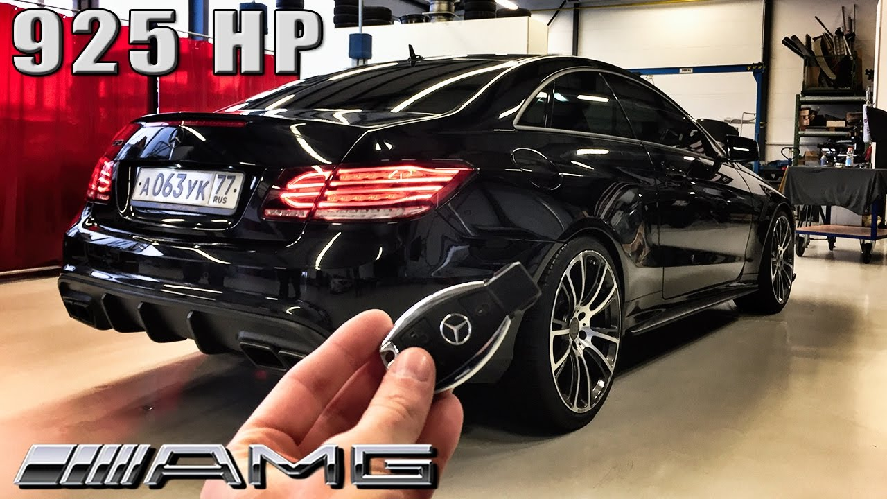 Mercedes Benz Coupe >> Mercedes E63 AMG Coupe 925 HP REVIEW POV Test Drive by ...