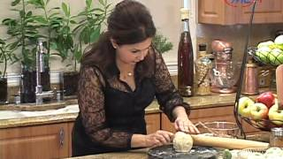 Samira's Kitchen Episode # 50 - Apple Dumpling , Apple Walnut Cookie Bars, Nutty Brownies
