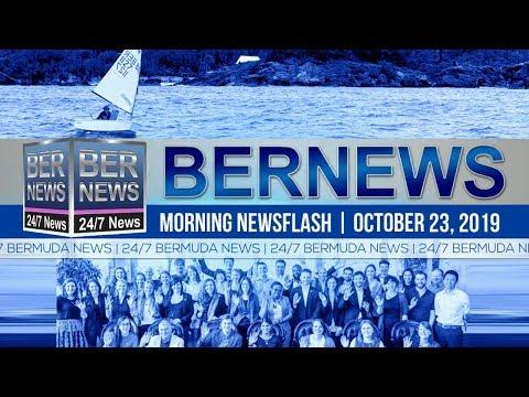 Bermuda Newsflash For Wednesday, October 23, 2019