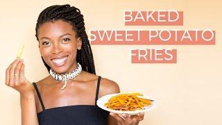 How to make Sweet Potato Fries + Three Vegan Dipping Sauces
