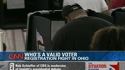 Battleground State Ohio: Voter Registration Problems?