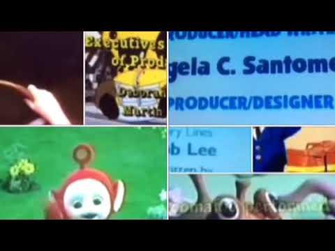 Blue's Clues, Brum, Fireman Sam, MSB, Postman Pat, SS, Teletubbies, Zoboomafoo Credits Remix