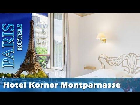 Hotel Korner Montparnasse - Paris Hotels, France