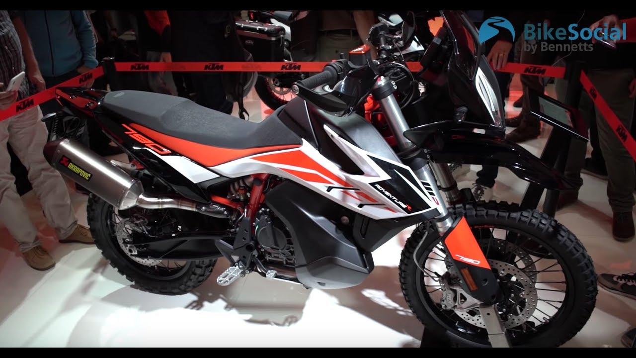 KTM 2019 | New 790 Adventure & 790 Adventure R plus 690 SMC R and 690  Enduro R walk around