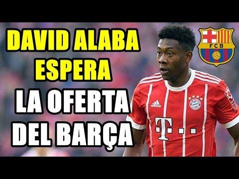 DAVID ALABA ESPERA UNA OFERTA DEL BARCELONA PARA FICHARLE