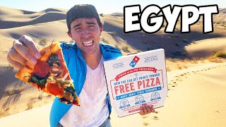 I Delivered A Pizza 6,969 Miles Across The World