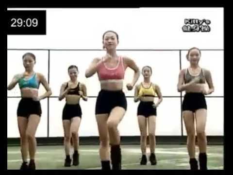 Aerobic dance with countdown 40 min (แอโรบิคเพลงมันส์ นับถอยหลัง 40 นาที)
