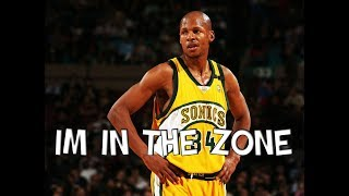 NBA Players In The ZONE