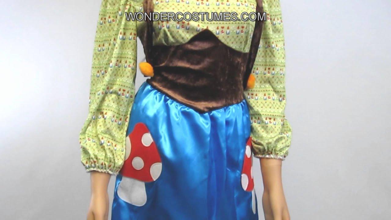Ms. Gnome Adult Costume & Ms. Gnome Adult Costume - YouTube