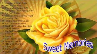 Sweet Memories Love Songs 50's 60's 70's Playlist - Golden Oldies Songs