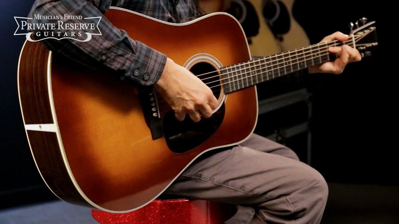 Martin Hd 28 Standard Dreadnought Acoustic Guitar Youtube