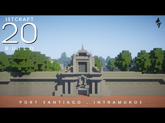 Fort Santiago, Intramuros Minecraft Philippines (City of Manila) by JST Creations