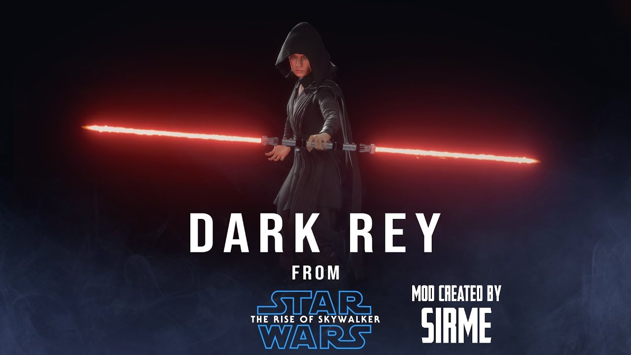 Dark Rey Mod By Sirme Rise Of Skywalker Trailer Star Wars Battlefront 2 Youtube