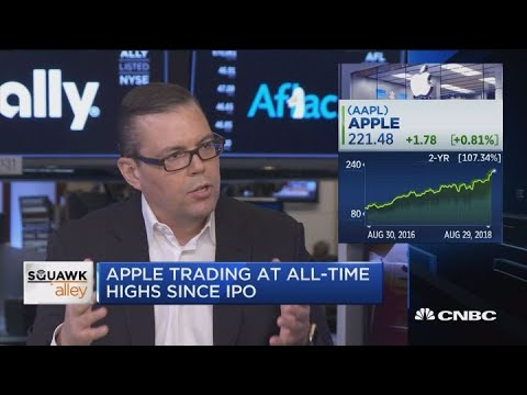 Apples stock is that shining city on a hill, says analyst