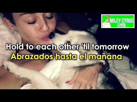 Miley Cyrus - The Floyd Song ( Lyrics + Sub // Traducida Español ) HD