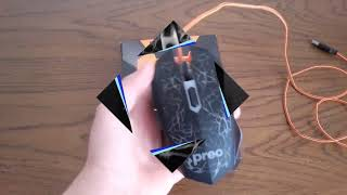 Preo M-06 Gaming Mouse Kutu Açılımı