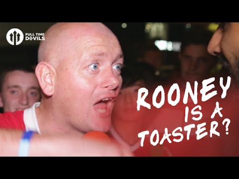 Wayne Rooney is a Toaster? | Manchester United 2-0 Southampton | FANCAM