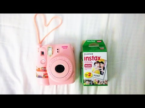 QUICK II EASY How To Refill Instax Mini 8 Film Tutorial II with UNBOXING