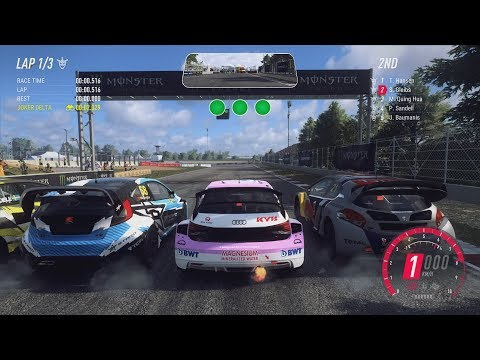 Rallycross Gameplay In 12 Different Racing Games (Dirt Rally 2.0, V-Rally 4, The Crew 2 And More)
