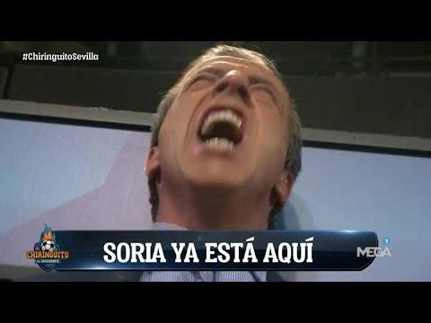 """Cristóbal Soria: """"¡SIIIIII! ¡SIIIII! FUERA LAS PENAS, VIVA LA ALEGRÍA... ¡¡HA GANADO EL SEVILLA!!"""""""