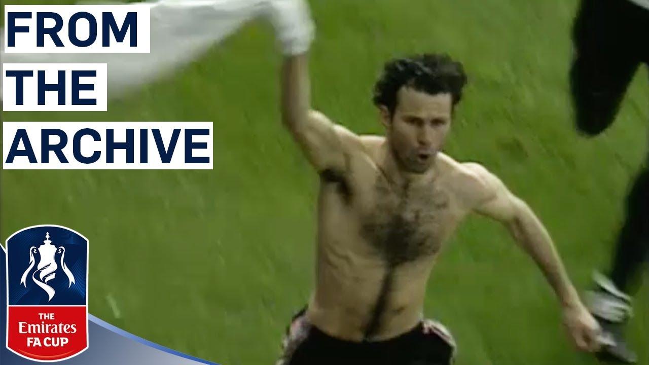 Giggs' Unforgettable Solo Goal | Manchester United v Arsenal | FA Cup Semi Final 1999 | Classic