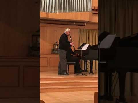 "Elena Drabkin and Peter Kostopoulos play Debussy ""Le Petiti Negre"""