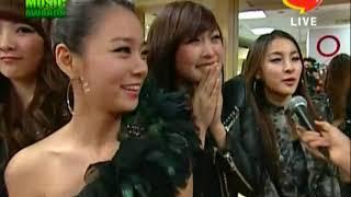 SNSD, KARA & K.Will Backstage Melon Music Awards 2009 [HQ]