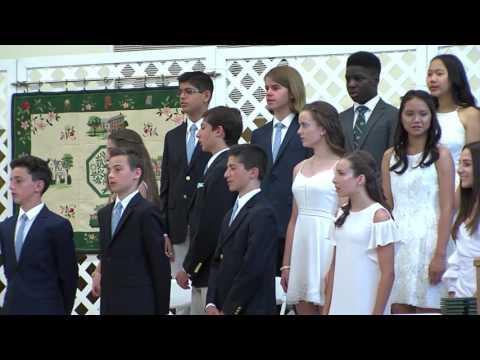 The Elisabeth Morrow School 2017 Graduation