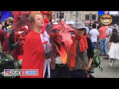 London Trafalgar Square | লন্ডন ট্রাফালগার স্কয়ার থেকে সরাসরি সম্প্রচার আপনাদের সাথে আছেন মঈন উদ্দিন