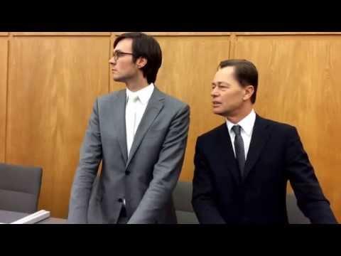 Dr. Thomas Middelhoff, gestern, kurz vor der Urteilsverkündung, im Essener Landgericht.
