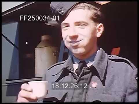 Lancaster Bombers & RAF Crew - 250034-01 | Footage Farm Ltd