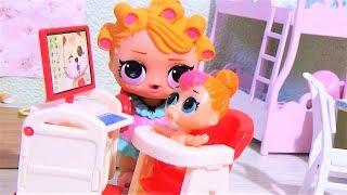 БОЛЬШОЙ БОЛЬШОЙ СЕКРЕТ. Куклы #ЛОЛ мультики #видео для детей/lol surprise