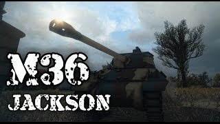 World of Tanks - M36 Jackson Tier 6 Tank Destroyer - The Slugger